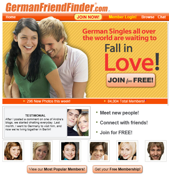 Dating sites germany